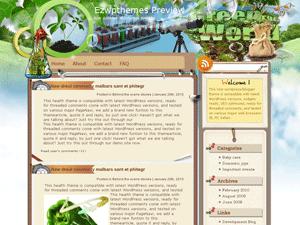 Шаблон Вордпресс здоровое питание Magic-Bean