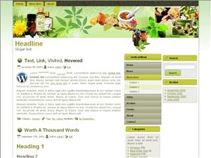 Wordpress шаблон медицина Medicine-preparation
