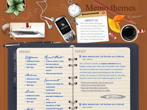 Вордпресс шаблон блог Pad-mess