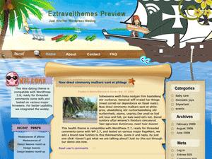 Вордпресс тема туризм Chasing-Pirates-in-Caribbean