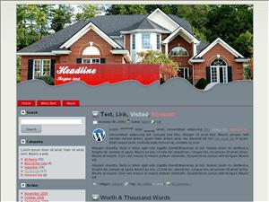 Wordpress шаблон недвижимость Home-supplies