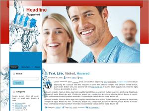 Шаблон Вордпресс стоматология Teeth-protect-blog