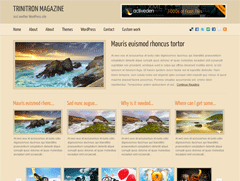 Современный шаблон WordPress TrinitronMagazine