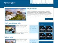 Универсальная тема Вордпресс AcolinisMagazine
