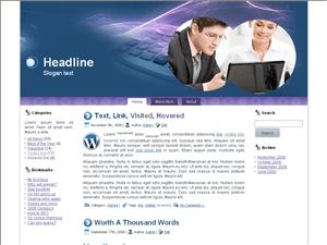 Бизнес шаблон Вордпресс Business-accountant