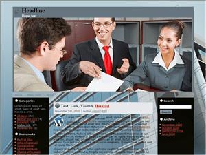 Бизнес шаблон WordPress Approval-rating