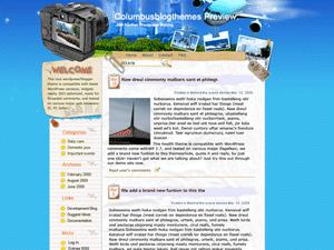 Шаблон WordPress туризм Checklist