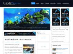 Универсальная тема WordPress FelinotiMagazine