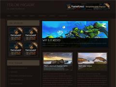 Современная тема WordPress FerloniMagazine