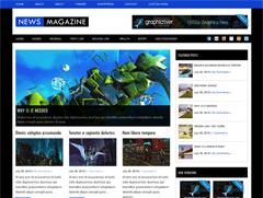 Новостная тема Ворд пресс NewsMagazine