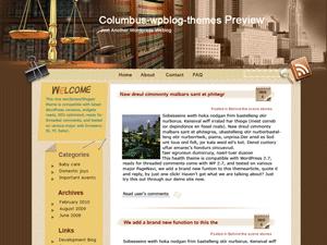 Юридический шаблон WordPress Wall-of-legal