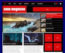 Стильный WordPress шаблон KaroMagazine