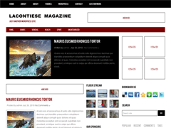Универсальная тема WordPress LacontieseMagazine