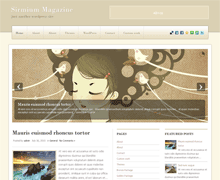 Стильный шаблон для Вордпресс SirmiumMagazine