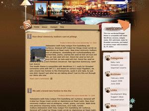 Вордпресс тема для блога Austin-lodgings