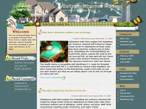 Вордпресс тема недвижимость Condo-communities