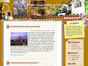 Wordpress тема недвижимость Condo-people
