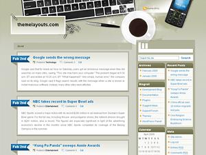 Wordpress тема блог Prodesk
