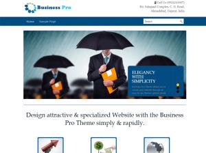 Бизнес-тема Вордпресс Business-pro