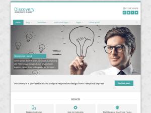 Бизнес тема Вордпресс Discovery