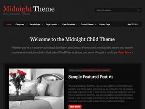 Премиум тема Вордпресс Midnight