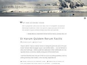 Светлый шаблон WordPress Beluga
