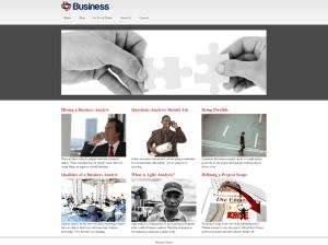 Бизнес тема Вордпресс Business-mind