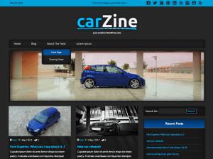Автомобильная тема Вордпресс Carzine