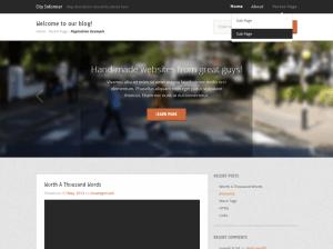 Универсальная тема Вордпресс City-informer