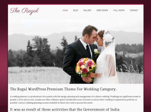 Свадебная тема Вордпресс Regalway
