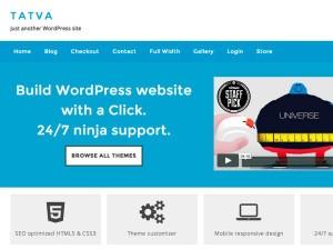 Современная тема WordPress Tatva-lite