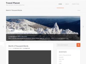 Вордпресс шаблон туризм Travel-planet