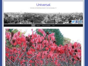 Универсальный Вордпресс шаблон Universal