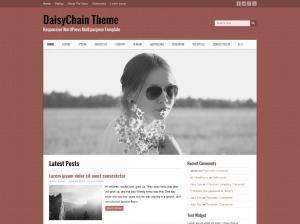 Универсальная тема Вордпресс Daisy