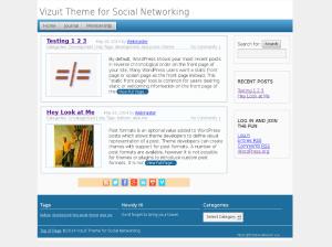 Универсальная блоговая тема WordPress Threadz