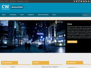 Бизнес-тема Вордпресс Cw-magazine