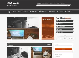 Бизнес шаблон для Вордпресс Ywp-youit
