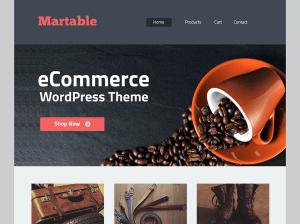 Вордпресс тема для магазина Martable