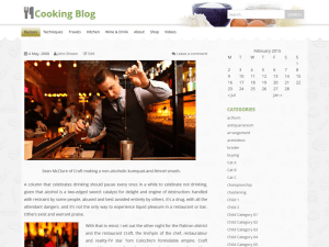 Wordpress тема кулинария Food-cook