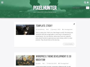 Светлая тема Вордпресс Pixelhunter