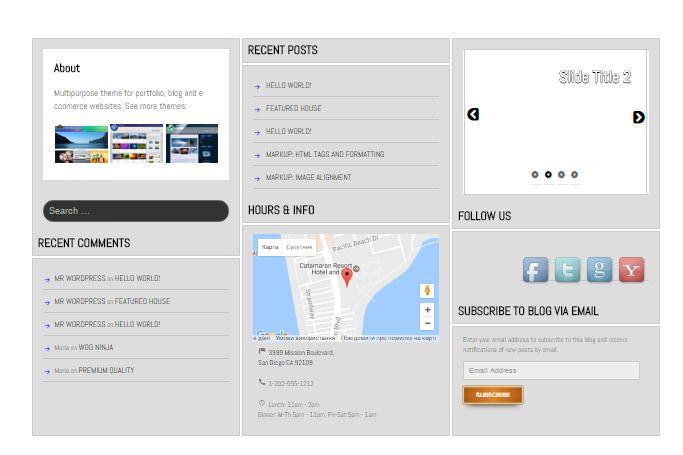 Шаблон для сайтов о недвижимости SG Diamond