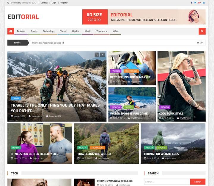 editorial-free-wordpress-magazine-theme