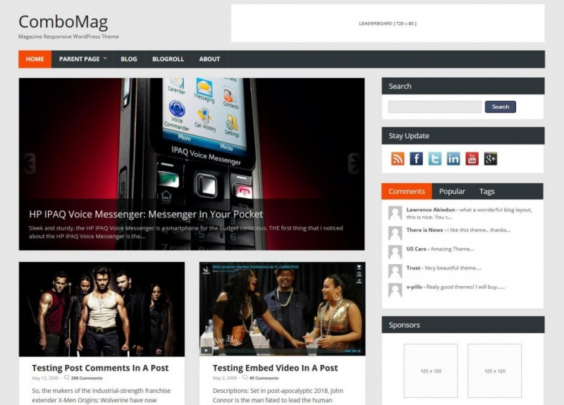 free-magazine-wordpress-theme-combomag