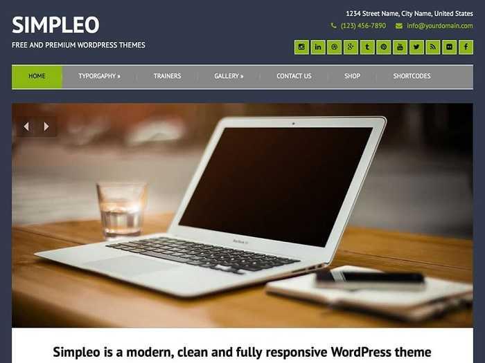 Simpleo позволяет интегрировать множество полезных функций с вашим сайтом.
