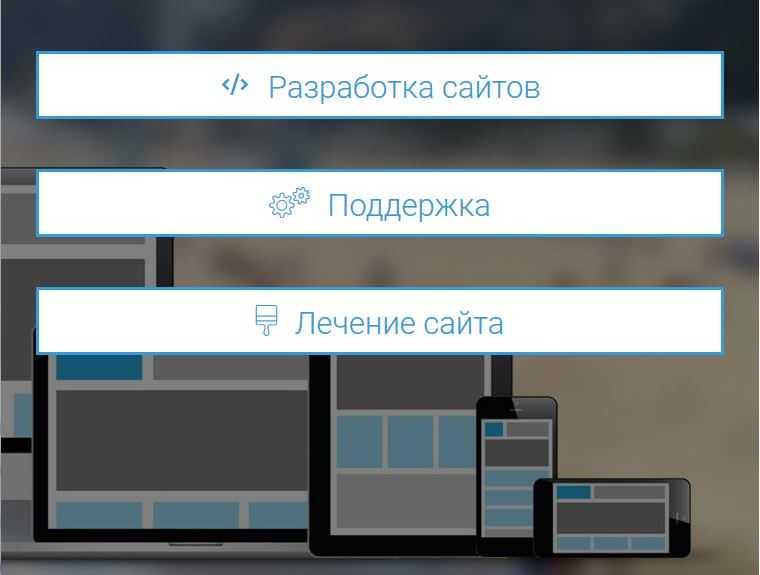 Услуги по созданию сайта на вордпресс.