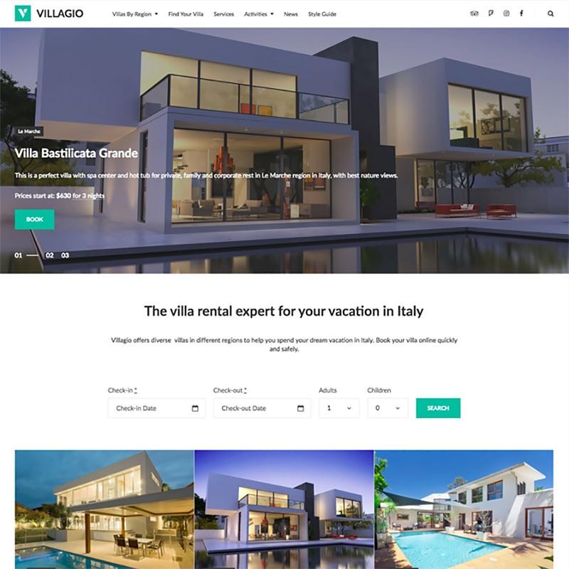 15 луших шаблонов WordPress для сайтов недвижимости