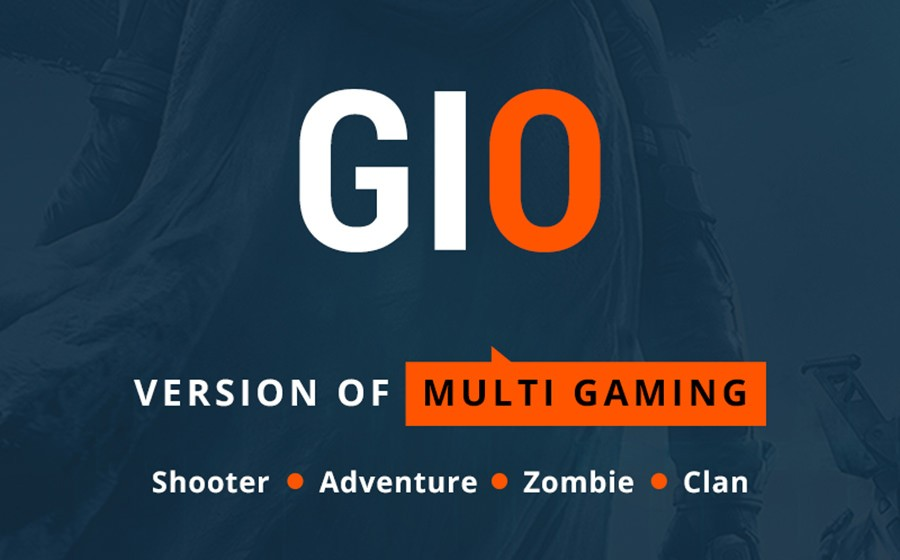 WordPress шаблон GIO - Multi Gaming Website Builder Multipurpose