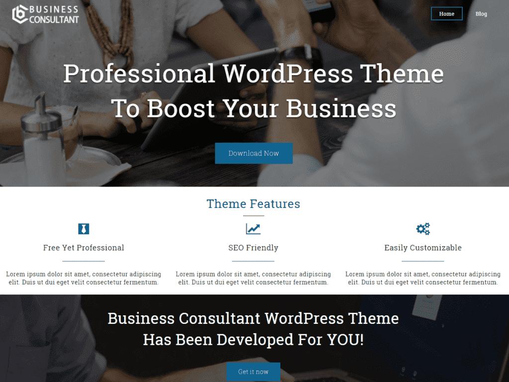 Business Consultant шаблонотElectraThemes.