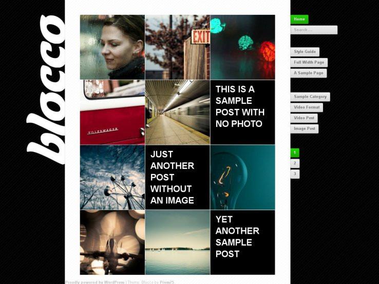 22 WordPress темы для творческого сайта за 2019