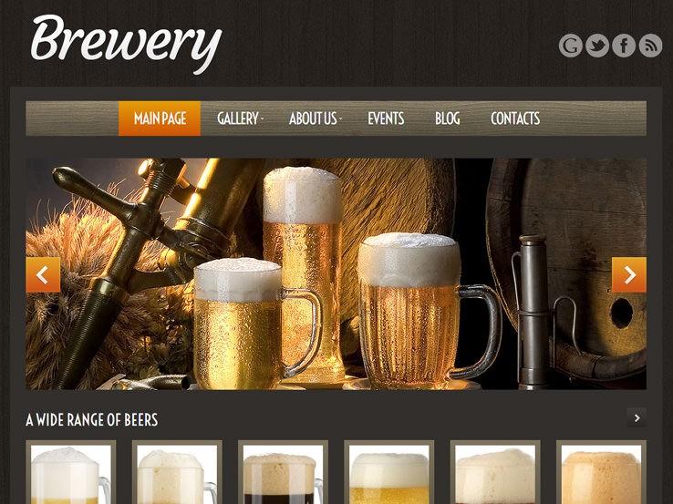 Тема Craft Beer WordPress - замечательное решение для пивоваренных заводов и пабов. /></p> <p>Тема Craft Beer WordPress – еще одно замечательное решение для пивоваренных заводов и пабов. Чуть ниже слайдера на главной странице у вас есть карусель во всю ширину, которая позволяет вам показывать лучшие сорта пива. Изображения кликабельны, так что можно переводить пользователей на страницы с подробной информацией, тем самым улучшая ваш трафик.</p> <p>Галерея позволяет демонстрировать удивительные фотографии, а раздел блога идеально подойдет для обмена предстоящими событиями и новостями. Тема легко интегрируется с различными социальными сетями, поэтому вы можете общаться с людьми в Facebook, Twitter, Google+ и других сообществах.Кроме того, вы можете выбрать несколько цветовых вариантов, фильтруемое портфолио, пользовательские виджеты, бесплатные обновления и многое другое.</p> <span class=